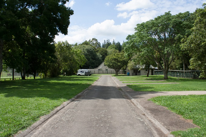 View of the camp ground from the entrance