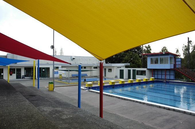 The local swimming complex